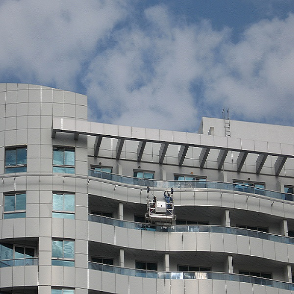 Facade Access - Monorail Power Cradle System